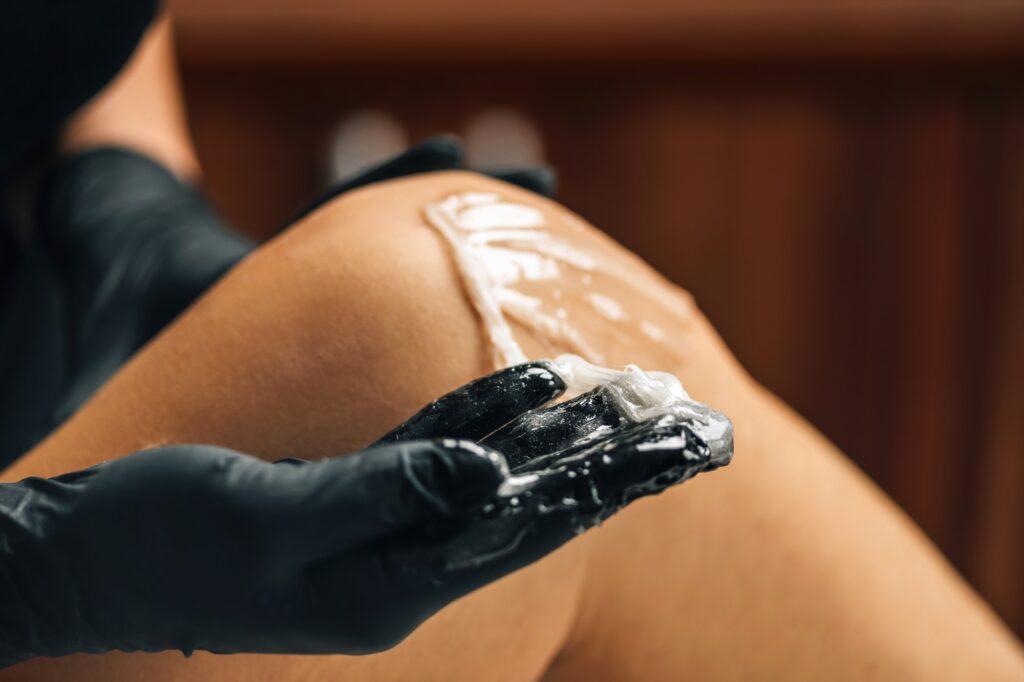 Sugaring or Sugar Paste Depilation for Legs