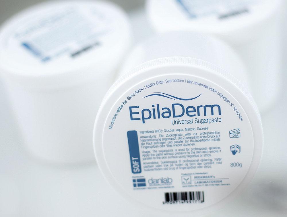 epiladerm-secerna-pasta